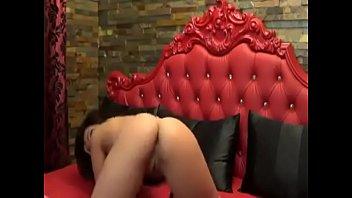 webcam strip mouthwatering a show broadcasts brunette Desi hot skype