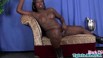 masturbation ebony teens squrit Maria takes double chocolate insertion