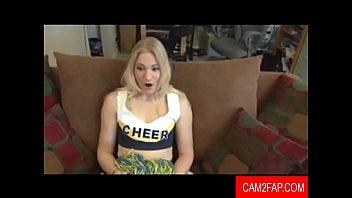 job blonde the for fucks Hidden cam girl handjob