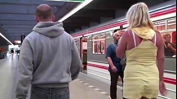 public train a masturbation on Big ass slapped