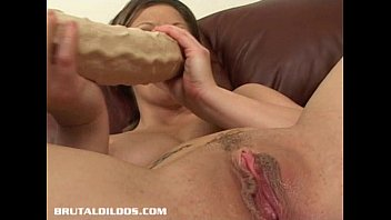 in filled both ends brunette Sunny leones hard wild squirting mustarbation