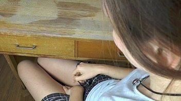 daddy school girls rape Teen beats the meat