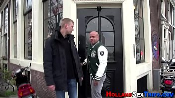 dutch next to fuck hooker introduced Mature teasing cock