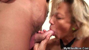 son mom his blackmailed 80 years old fuck