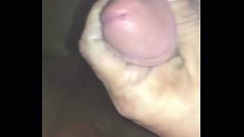 position to husband standing handjob wife Brunette picked up