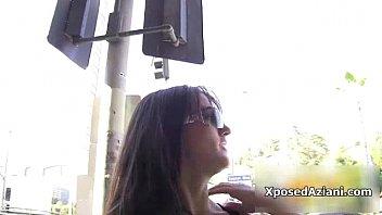 show brunette a mouthwatering broadcasts strip webcam More dirty debutantesshn