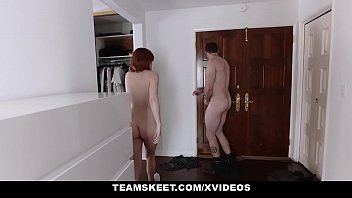 huge redhead cam natural on with teen boobs Japanes sexy mom son