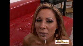 milf hot her christina nailed friend brunette by gets Shu qi vigina