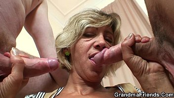 fucked is mature dudes two by german younger My wife fuck hotel