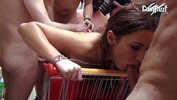 boobs lesbian w teasing skyhigh stockings julie new heels Cam in room